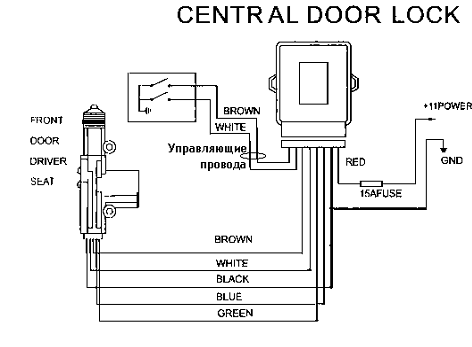 012515 1920 3 - Схема установки центрального замка