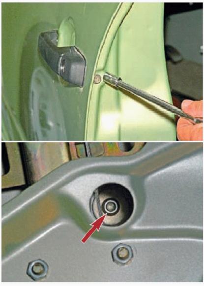 020715 1930 10 - Электропривод замка двери калина