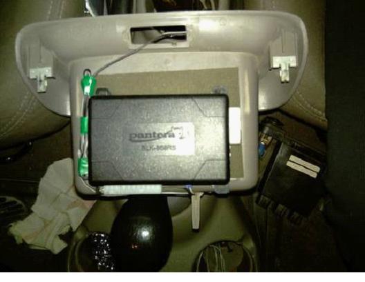 061515 1643 4 - Схема подключения сигнализации пантера slk 25sc