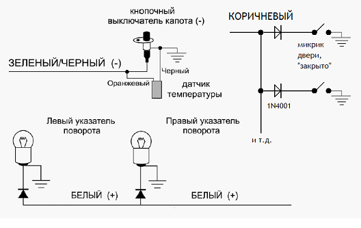 061515 1643 8 - Схема подключения сигнализации пантера slk 25sc